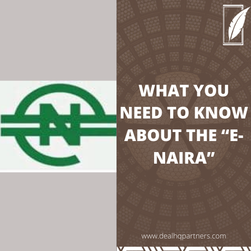 """WHAT YOU NEED TO KNOW ABOUT THE """"E-NAIRA"""""""